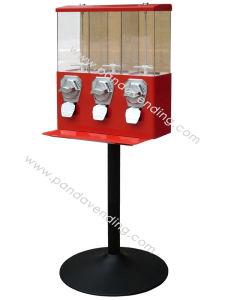 Easy-Refilling Triple Candy Vending Machine (TR103) pictures & photos