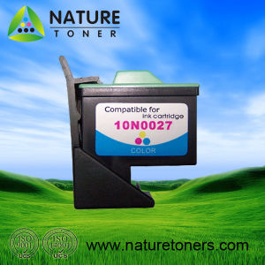 Compatible Ink Cartridge No. 17 (10N0217) and No. 27 (10N0227) for Lexmark Printer pictures & photos