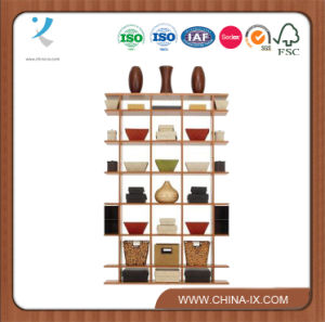 Free Standing 4′ Wide X 6′ Tall Wooden Display Stand pictures & photos