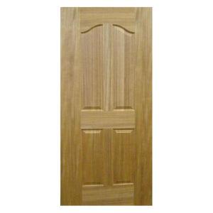 (TEAK) Veneered HDF Moulded Doors, Composite HDF Doors pictures & photos
