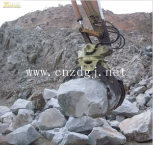 Excavator Hydraulic Rotating Grapple Wooden Excavator Rotating Grab Grapple Stone pictures & photos