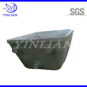 Sand Casting Steel Ladle Block for Refractory Furnace