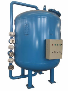 Automatic Backwashing Pressure Sand Filter for Raw Water Treatment Plant pictures & photos