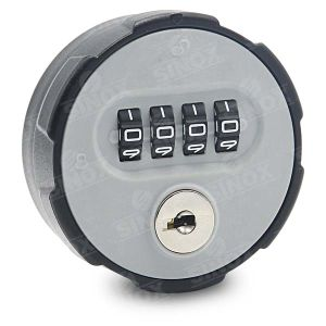 ABS Housing Auto Reset Combination Cabinet Lock with Decode Function pictures & photos