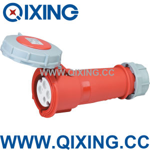 Waterproof 16A 4 Poles Industrial Socket (QX544) pictures & photos