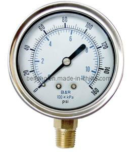 Pressure Meter with Pointer (PM-Y) pictures & photos