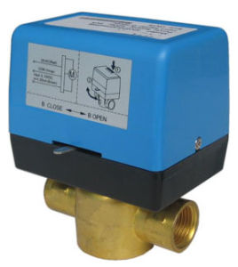 Hydraulic Proportional Modulating Control Motorized Zone Valve (HTW-MV13) pictures & photos