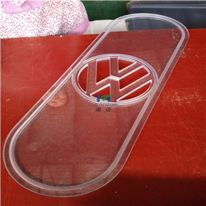 Custom Polycarbonate Cover for LED Light pictures & photos
