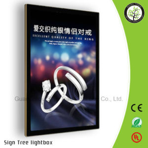 Acrylic Advertising Magnetic LED Light Box with Logo pictures & photos