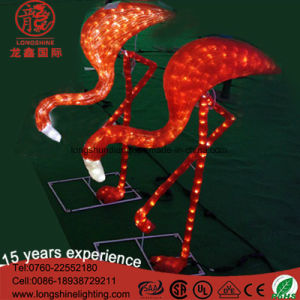 Christmas LED Decorative Motif Flamingo Light for Outdoor Lighting pictures & photos