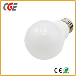 Plastic Cover Aluminum Indoor A60 7W Bulb Light LED Bulb pictures & photos