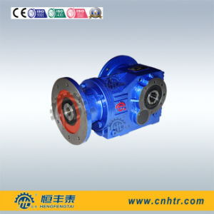 Right Angle Helical Bevel K187 Solid Input Shaft Reducer for Mobile Crusher pictures & photos