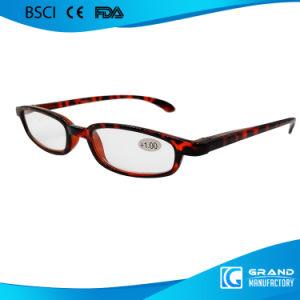 Decoration Fake Designer Round Lens Slim Arm Reading Glasses pictures & photos