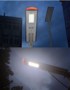 30W Integrated Solar LED Street Light with Indicator Light pictures & photos