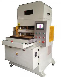EVA Foam Double Sided Tape Hydraulic Die Cutting Machine pictures & photos