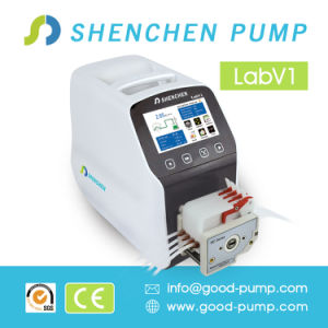 Laboratory Automatic Chemical Dosing Peristaltic Pump 24V OEM pictures & photos