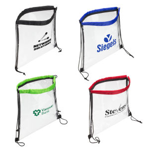 PVC Clear Drawstring Bag pictures & photos