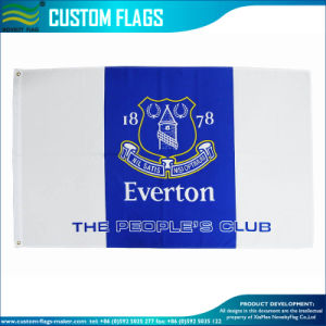Everton The People′s Club Outdoor Flying Blue Banner (J-NF01F03038) pictures & photos