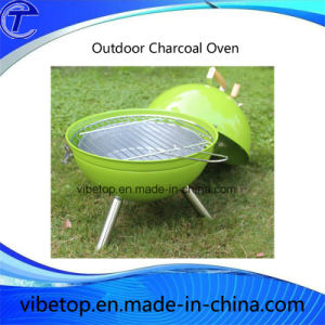 Small Portable Charcoal BBQ Grill for Camping pictures & photos