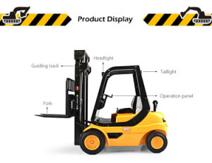 573524001-RC Forklift Engineering Truck - RTR - Yellow and Black pictures & photos