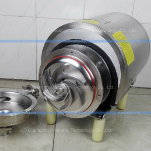Food Grade Sanitary Centrifugal Pump Wine Transfer Pump pictures & photos