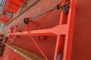 1ton Manually Operated Single Girder Overhead Crane for Sale pictures & photos