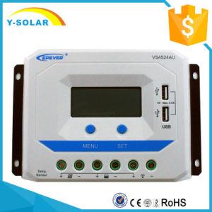 Epsolar 12V/24V 60A Solar Controller with Dual USB 2.4A Vs6024au pictures & photos