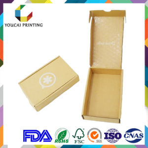 E Fluted Corrugated Packaging Box with Inside Gloss Lamination pictures & photos