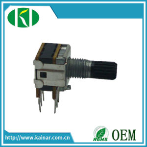 12, 13mm Stereo Rotary Potentiometer with 6 Pin Wh12-2-2 pictures & photos
