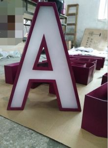 3D Stainless Steel Letters for Billboard Signage pictures & photos