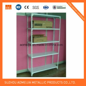Storage Metal Slotted Angle Shelf 5 Layer pictures & photos