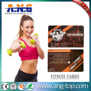 PVC Smart RFID Member Card for Gym Member Management pictures & photos