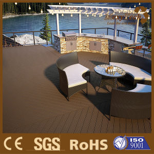 WPC Coextrusion Terrace Flooring, Outdoor Composite Decking pictures & photos