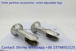 Best Quality Toilet Cubicle Partition Hardware Set Toilet Adjustable Legs pictures & photos