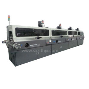 Fully Automatic Four Color Round Surface Plastic Bottle Screen Printing Machine pictures & photos