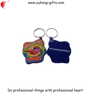 Fashion Creative Design Cartoon PVC Keyring for Gifts (YH-KC172) pictures & photos