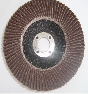 """Abrasive Flap Disc with Aluminum 115mm X 22mm (4-1/2"""" X 7/8"""") pictures & photos"""
