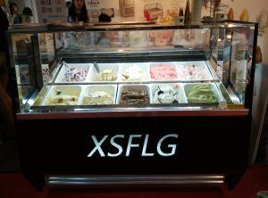 Italian Gelato Ice Cream Equipments Machines Showcase Freezers pictures & photos