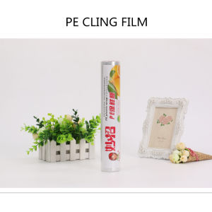 Safety PE Food Grade PE Cling Film Packaging Film pictures & photos