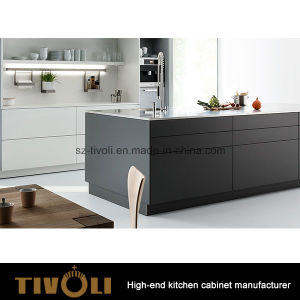 Modern Cheap Design Grey Melamine Color Kitchen Cabinet and Kitchen Furniture (AP151) pictures & photos