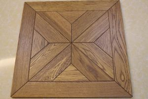 Morden Design Natural European Oak Art Parquet pictures & photos