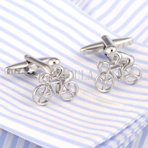 VAGULA New Leisure Cycling Bike Bicycle Cufflinks 210 pictures & photos