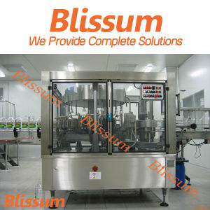 Full Automatic Roll Feed Hot Glue Labeling Machine pictures & photos