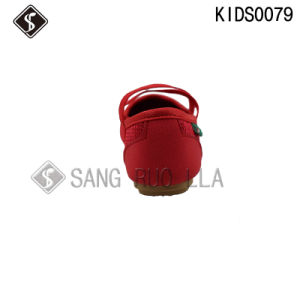 Kids Girl Dancing Sports Walking Shoes with Canvas Shoes pictures & photos
