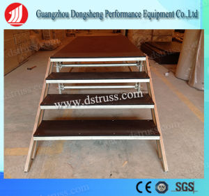 Guangzhou China Performance Aluminum 1.22m*2.44m Outdoor Mobile Stage pictures & photos