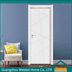 Customize Composite Lacquer Flush White Doors for Hotels pictures & photos