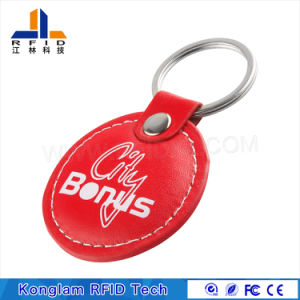Customized OEM Leather Portable MIFARE Smart RFID Card pictures & photos