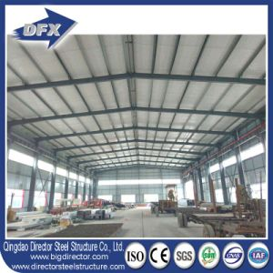 Corrugated Steel Frame Design Industrial Construction Shed with Drawing pictures & photos