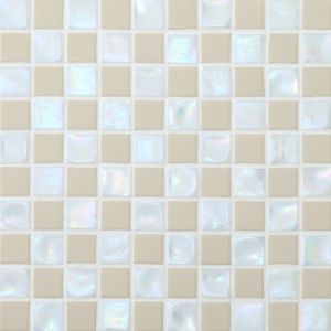 The Carrara Black Glass Mosaic for Bathroom Floor and Wall pictures & photos