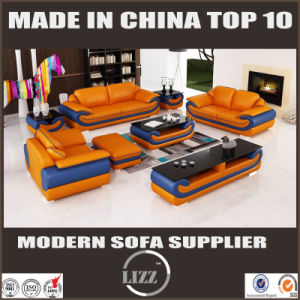 2017 Newest Modern Leather Sofa for Living Room Furniture (LZ1488) pictures & photos